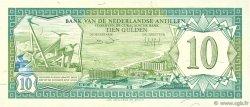 10 Gulden ANTILLES NÉERLANDAISES  1984 P.16b NEUF