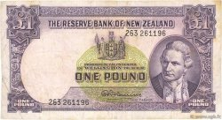 1 Pound NOUVELLE-ZÉLANDE  1967 P.159d TB+