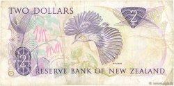 2 Dollars NOUVELLE-ZÉLANDE  1989 P.170c TB+