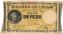 1 Peso PORTO RICO  1895 P.07b TTB