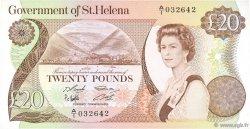 20 Pounds SAINTE HÉLÈNE  1986 P.10a SUP