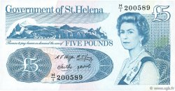 5 Pounds SAINTE HÉLÈNE  1998 P.11a NEUF