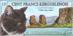 100 Francs KERGUELEN  2010  NEUF