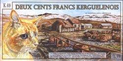 200 Francs KERGUELEN  2010 P.- NEUF
