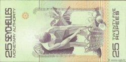 25 Rupees SEYCHELLES  1979 P.24a SUP