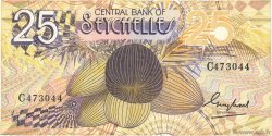 25 Rupees SEYCHELLES  1983 P.29a TTB