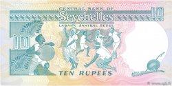 10 Rupees SEYCHELLES  1989 P.32 pr.NEUF