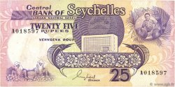 25 Rupees SEYCHELLES  1989 P.33 TTB