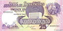 25 Rupees SEYCHELLES  1989 P.33 pr.NEUF