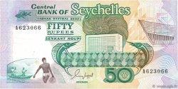 50 Rupees SEYCHELLES  1989 P.34 TTB
