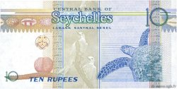 10 Rupees SEYCHELLES  1998 P.36a pr.NEUF