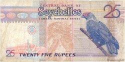 25 Rupees SEYCHELLES  1998 P.37 TB+
