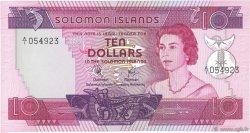 10 Dollars ÎLES SALOMON  1977 P.07a NEUF