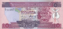 10 Dollars ÎLES SALOMON  2004 P.27a NEUF