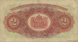 2 Dollars TRINIDAD et TOBAGO  1939 P.06b B+