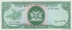 5 Dollars TRINIDAD et TOBAGO  1977 P.31b NEUF
