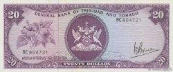 20 Dollars TRINIDAD et TOBAGO  1977 P.33a pr.SPL