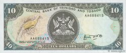 10 Dollars TRINIDAD et TOBAGO  1985 P.38a NEUF