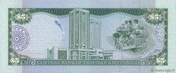 5 Dollars TRINIDAD et TOBAGO  2002 P.42a NEUF