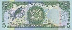 5 Dollars TRINIDAD et TOBAGO  2002 P.42b NEUF