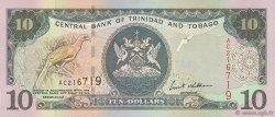 10 Dollars TRINIDAD et TOBAGO  2002 P.43b pr.NEUF
