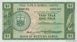 1 Tala SAMOA  1967 P.16c pr.NEUF