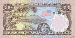 10 Tala SAMOA  1980 P.22 SPL+