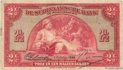 2,5 Gulden SURINAM  1940 P.087a TB