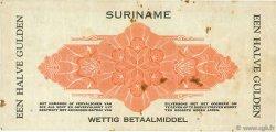 50 Cent SURINAM  1942 P.104c TB+