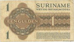 1 Gulden SURINAM  1956 P.108b B+