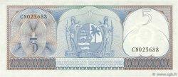 5 Gulden SURINAM  1963 P.120b NEUF