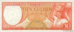 10 Gulden SURINAM  1963 P.121 NEUF