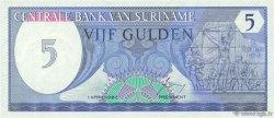 5 Gulden SURINAM  1982 P.125 NEUF
