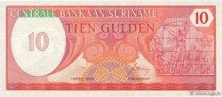 10 Gulden SURINAM  1982 P.126 NEUF