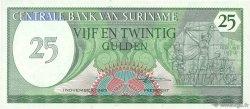 25 Gulden SURINAM  1985 P.127b NEUF