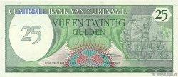 25 Gulden SURINAM  1985 P.127b SPL