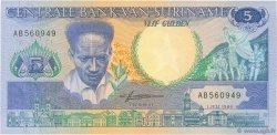 5 Gulden SURINAM  1986 P.130a NEUF