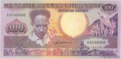 100 Gulden SURINAM  1986 P.133a NEUF