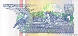 5 Gulden SURINAM  1998 P.136b NEUF