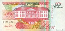10 Gulden SURINAM  1996 P.137b NEUF