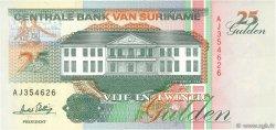 25 Gulden SURINAM  1996 P.138c NEUF