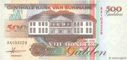500 Gulden SURINAM  1991 P.140 NEUF