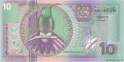 10 Gulden SURINAM  2000 P.147 NEUF