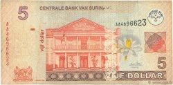 5 Dollars SURINAM  2004 P.157a B