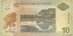 10 Dollars SURINAM  2004 P.158 B