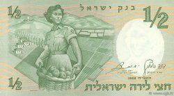 1/2 Lira ISRAËL  1958 P.29a SUP+
