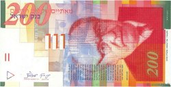 200 New Sheqalim ISRAËL  1999 P.62a NEUF