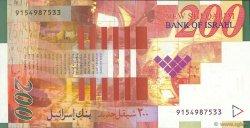 200 New Sheqalim ISRAËL  1999 P.62a pr.NEUF