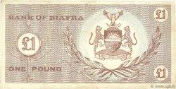 1 Pound BIAFRA  1967 P.02 TTB+