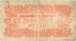 1 Franc CONGO BELGE  1920 P.03B TB